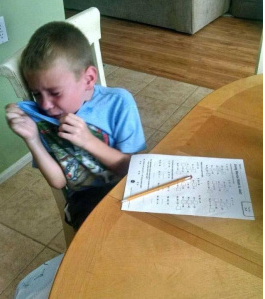 how to stop child crying at school
