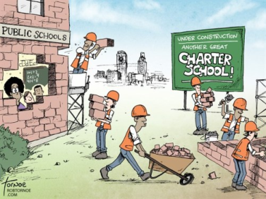 charter schools stealing